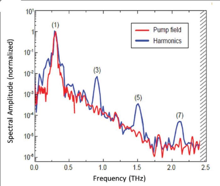 THz nonlinear optics of graphene