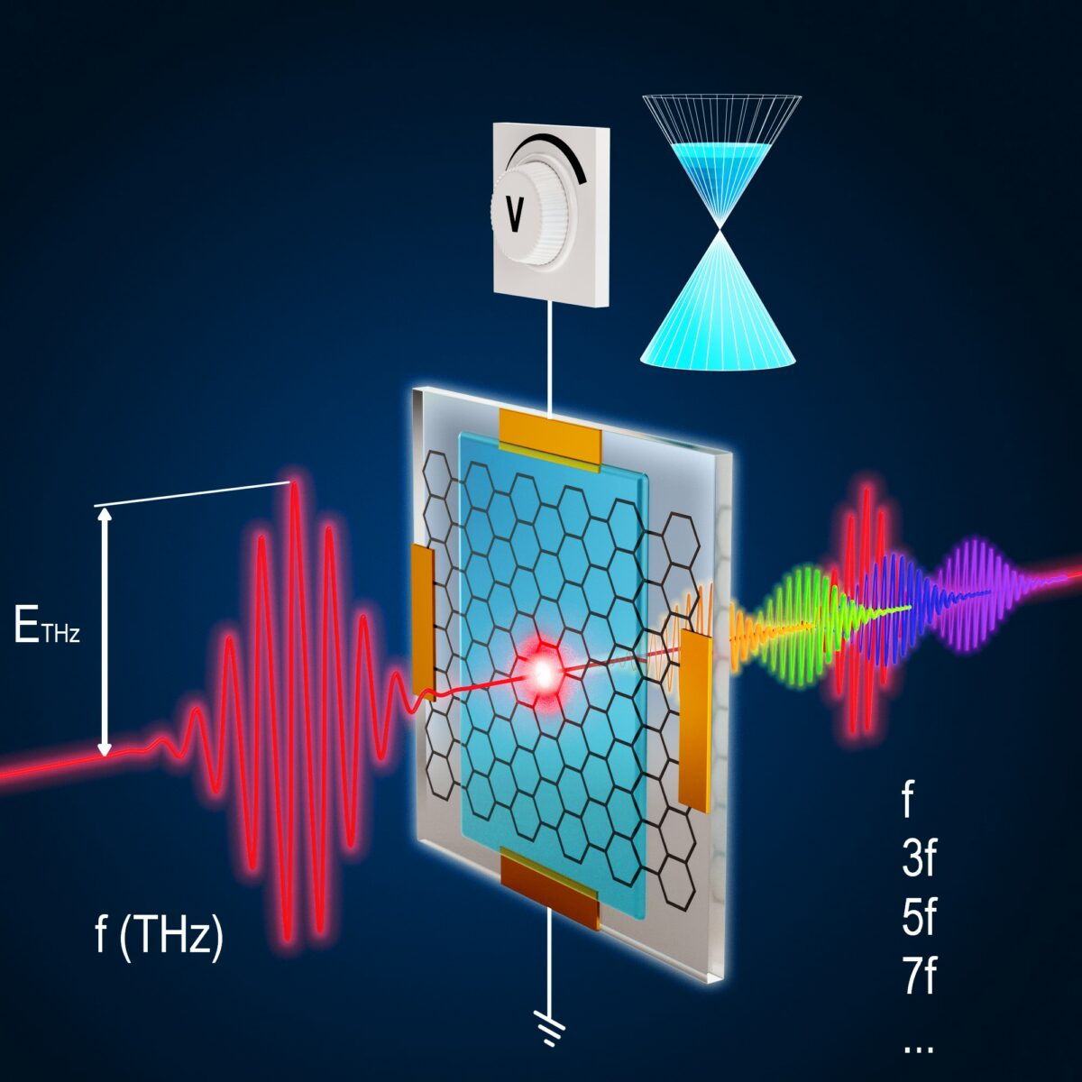 Electrical tunability of terahertz nonlinearity in graphene