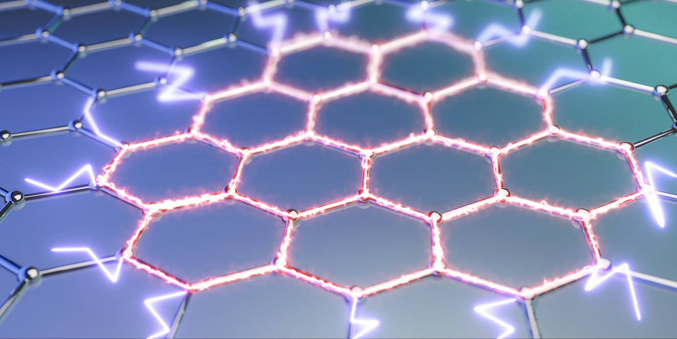 Ultra-efficient heat dissipation thanks to graphene electrons
